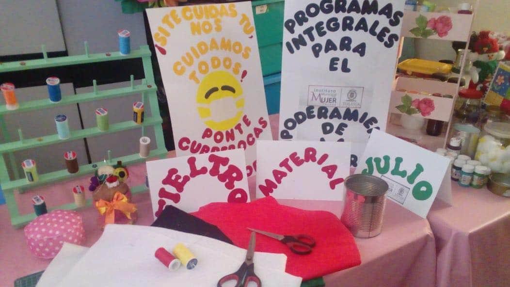 Ofrece Toluca programas en línea para empoderamiento de las mujeres