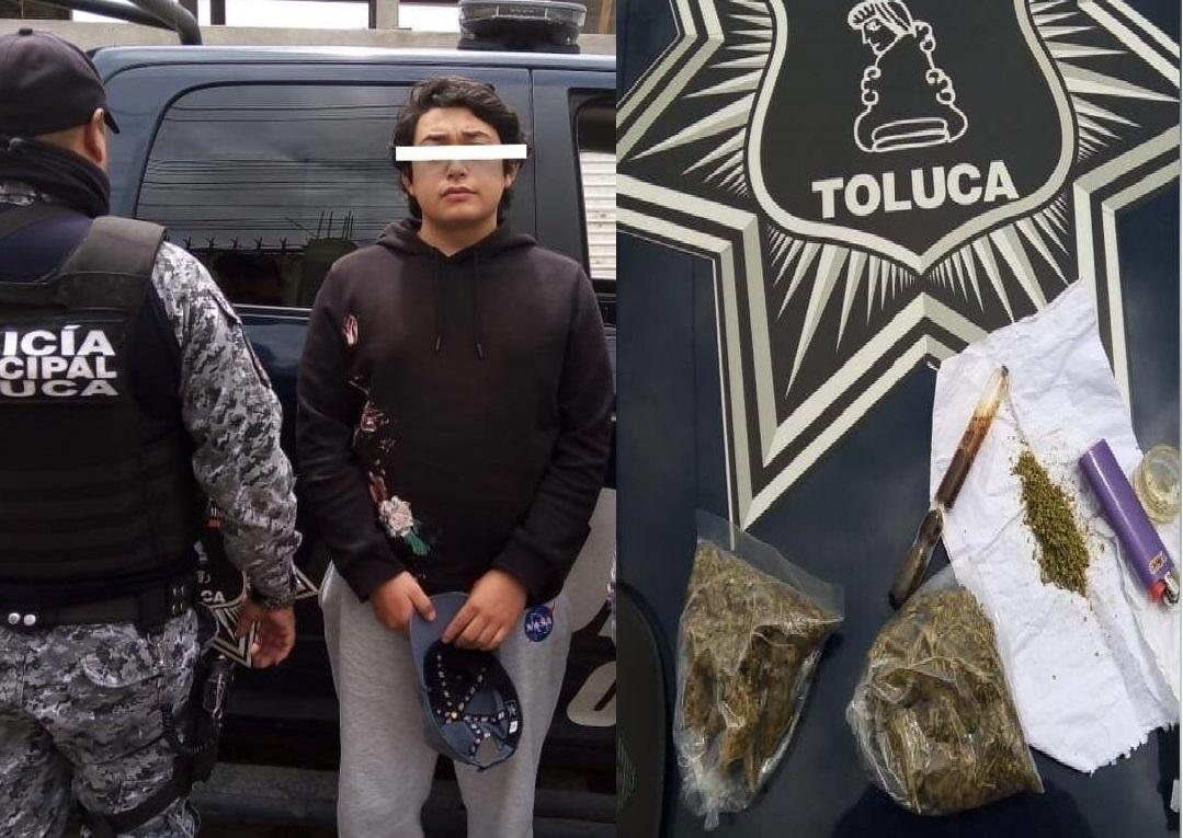 Reporta Policía de Toluca más de 300 detenidos entre mayo y julio