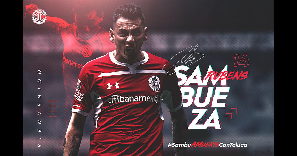 El regreso de Rubens Sambueza al Toluca FC