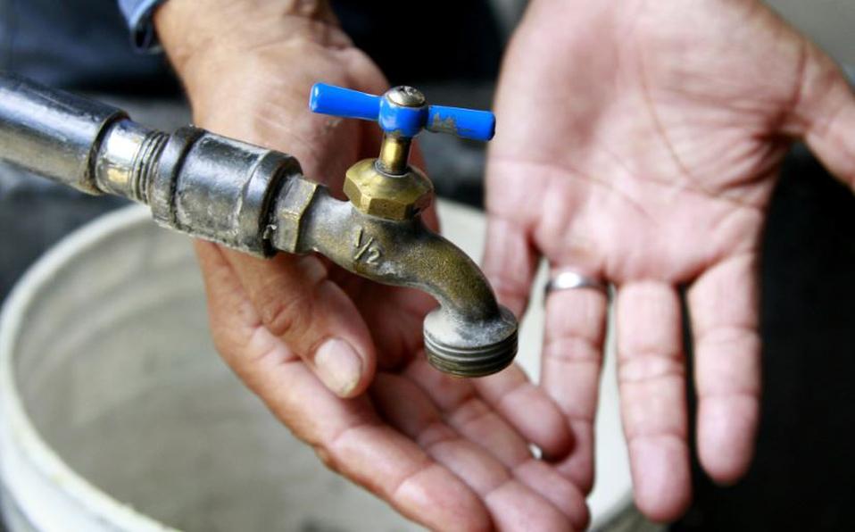 Conagua: Suspensión del suministro de agua potable fin de semana en Edomex.