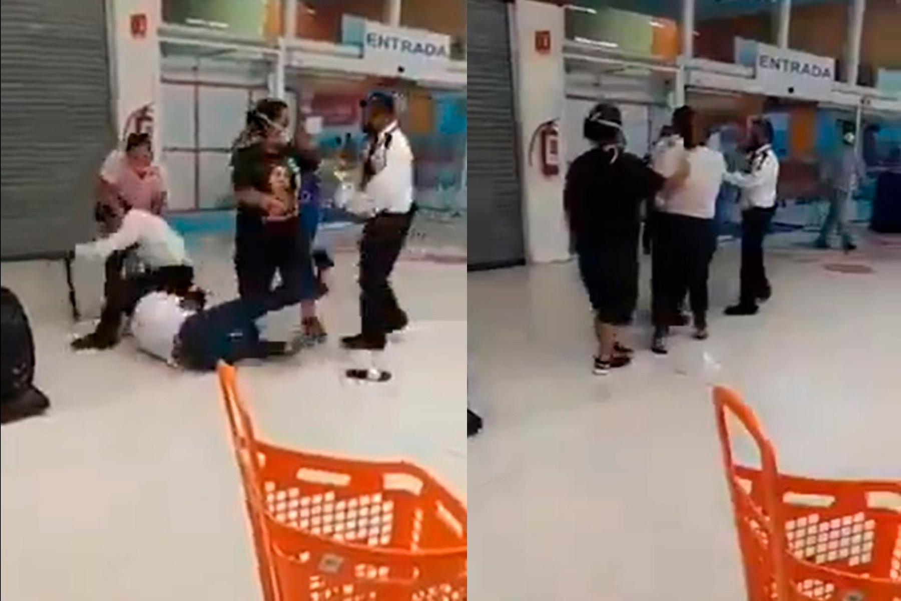 video-senoras-agreden-a-guardia-de-seguridad-por-no-dejarlas-entrar-a-una-tienda1