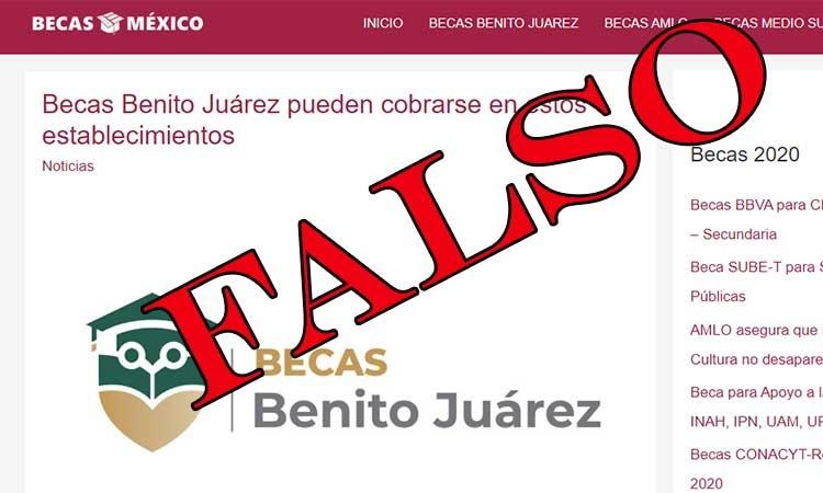 Por medio de redes sociales, se informó que siguen existiendo nuevas formas de estafa y fraudes haciendo uso de la Beca Benito Juárez.
