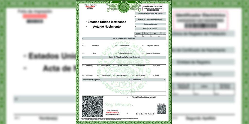 El Gobierno del Edomex ha puesto a disposición de la población la posibilidad de tramitar el acta de nacimiento en línea.