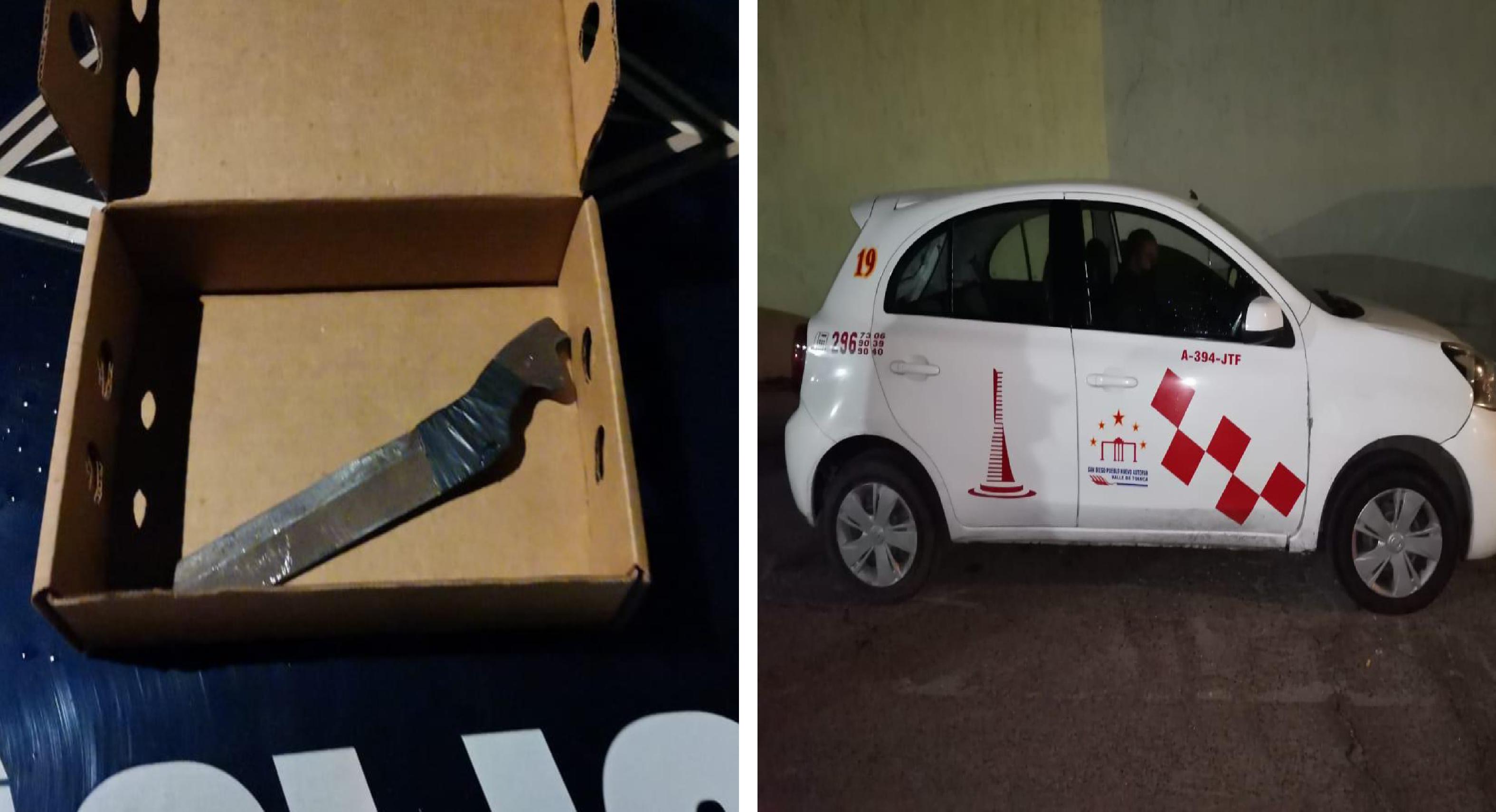 Capturan a delincuente armado que pretendía robar un vehículo5