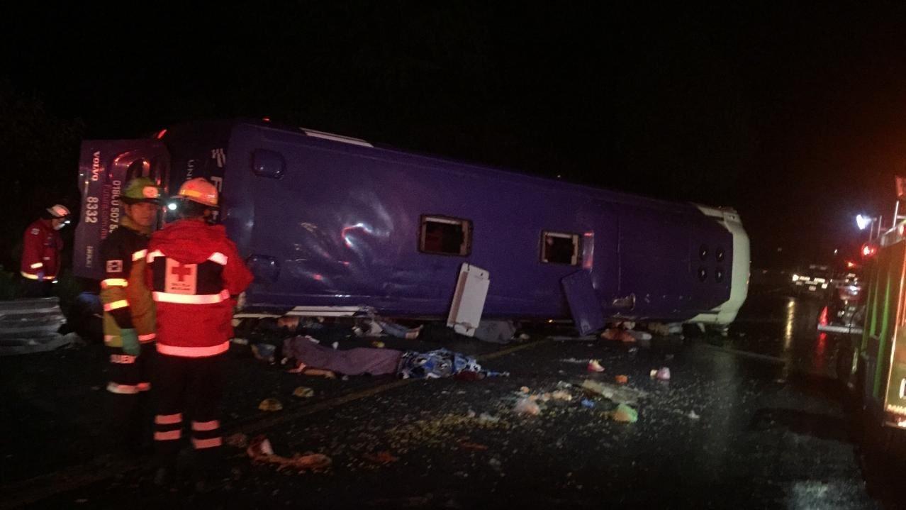 Nueve personas dadas de alta tras el accidente en la carretera México - Toluca