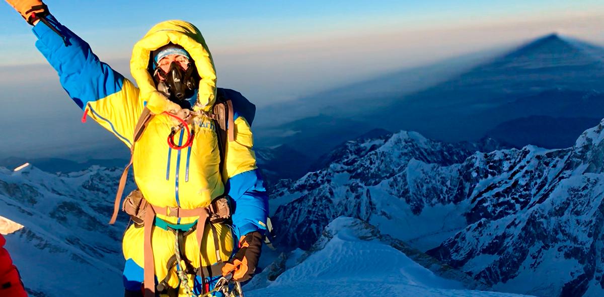 La mexicana que consiguió un récord Guinness en montañismo