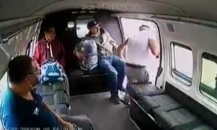 Asaltante de combi es presunto integrante del crimen organizado