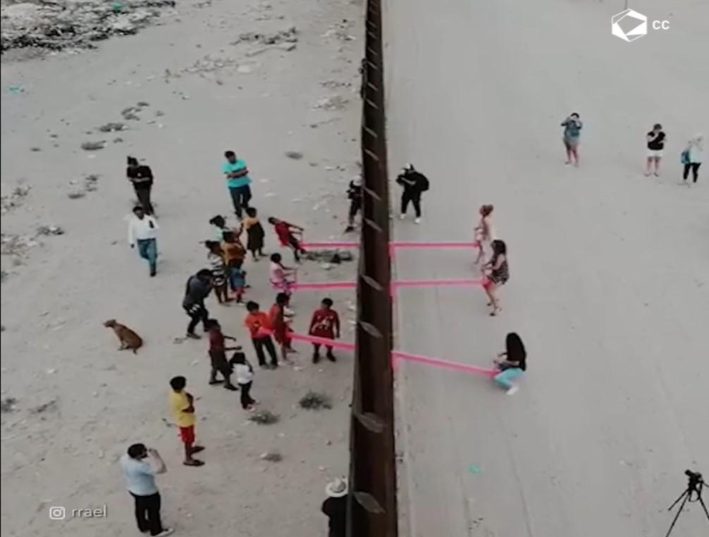 Sube y baja fronterizo