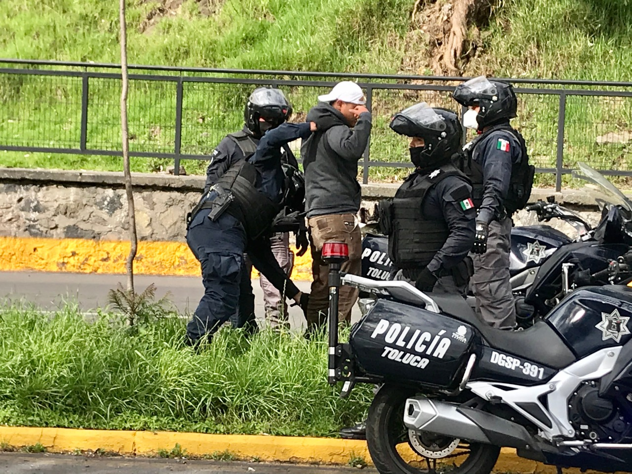 Toluca cuenta con grupo motorizado de seguridad pública