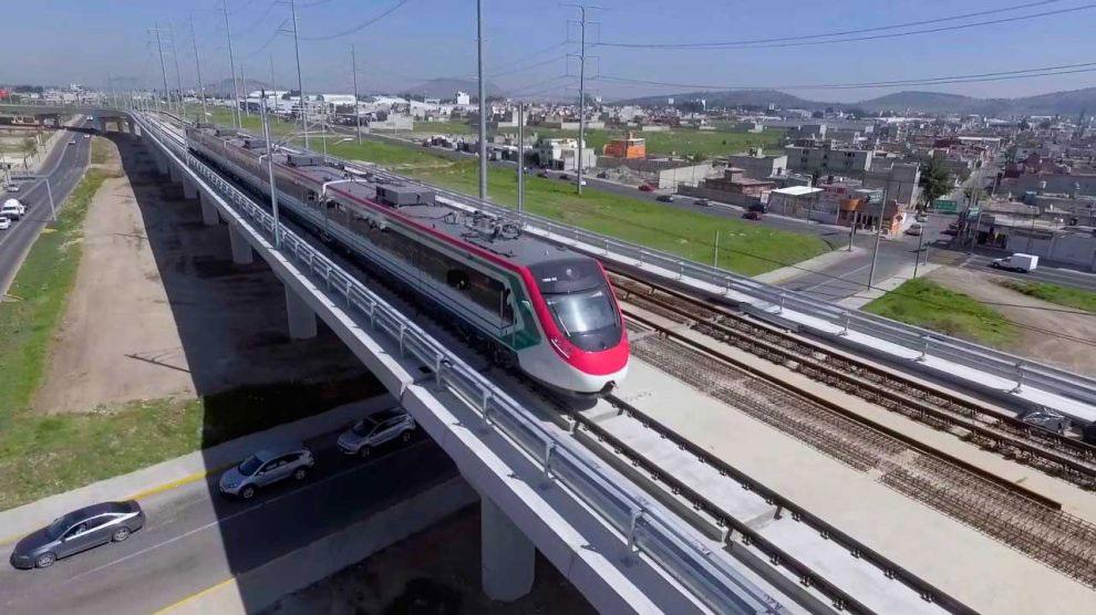 El actual presidente de México, AMLO anunció que concluir el tren interurbano México-Toluca se ha convertido en un proyecto prioritario.