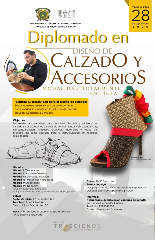 UAEMex brinda diplomado en Diseño de Calzado y Accesorios