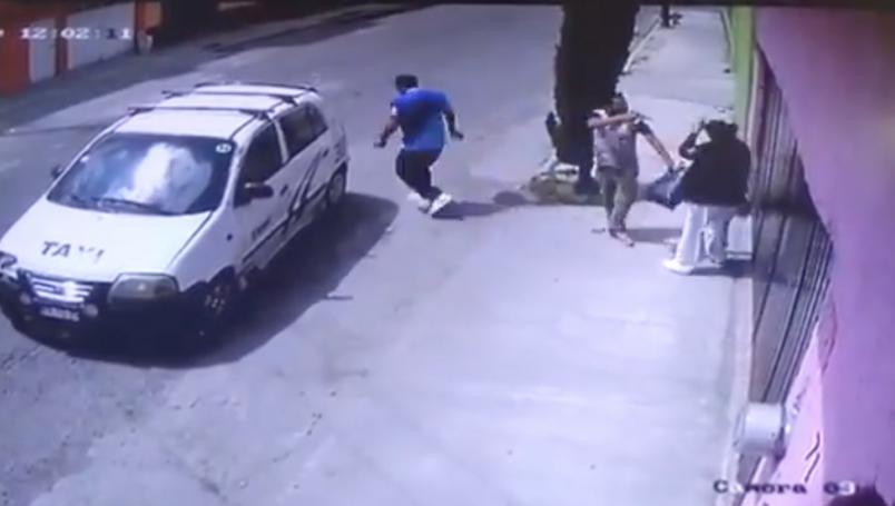 VIDEO || Atracan a una enfermera en el Estado de Mé