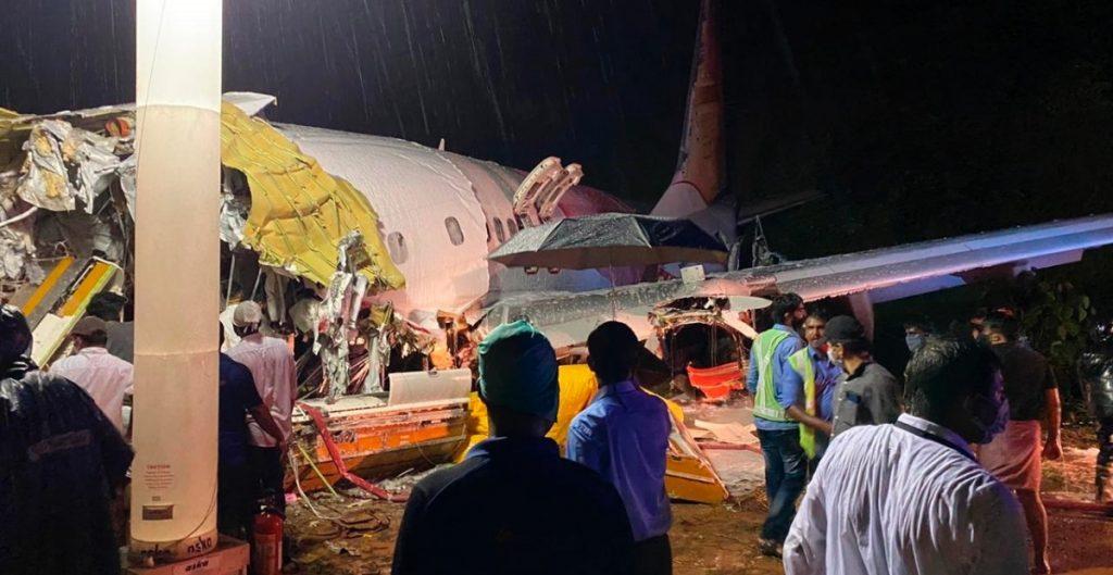 Accidente aéreo en la India deja varios heridos