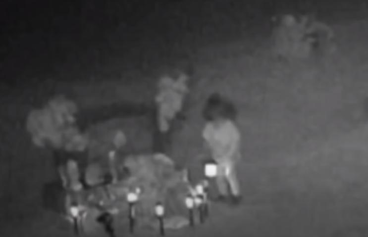 Captan fantasma de niña en cementerio de Nuevo México