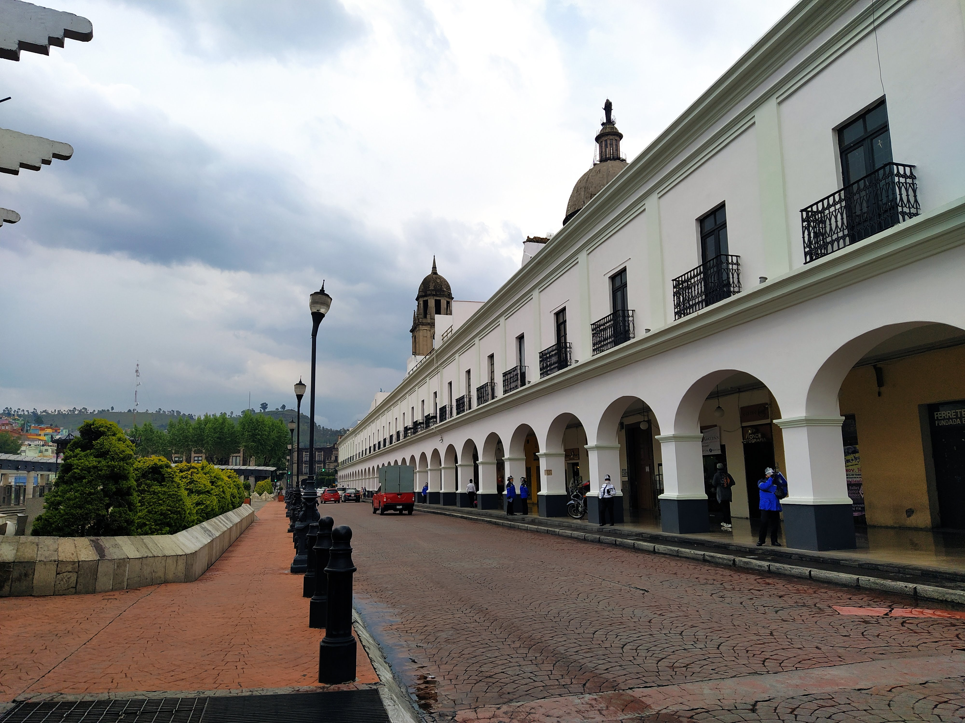 La ciudad de Toluca durante la pademia