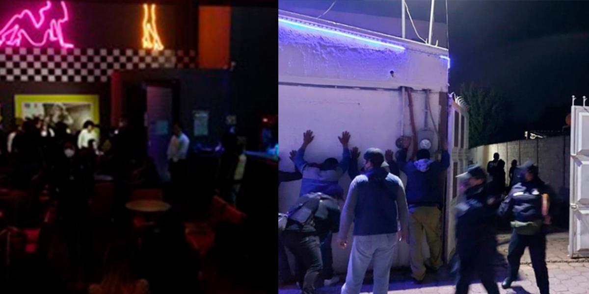 19 víctimas de trata son rescatadas de bares en Toluca y Zinacantepec