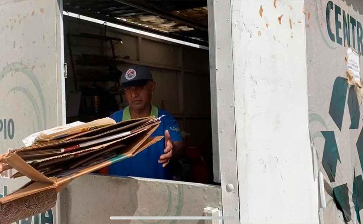 Canjea tu material reciclable por despensa en Toluca