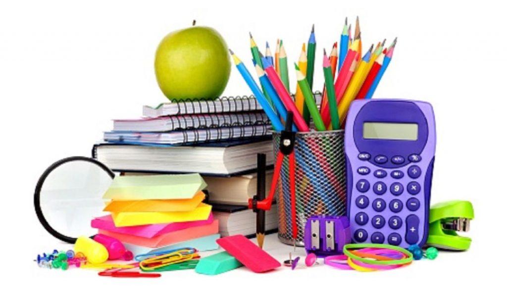 Lista de útiles para las clases a distancia 2020-2021