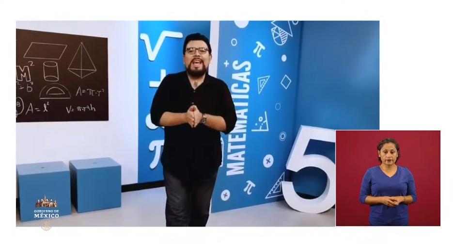 Video ejemplo de clase a distancia y horarios de Aprende en casa II para Edomex