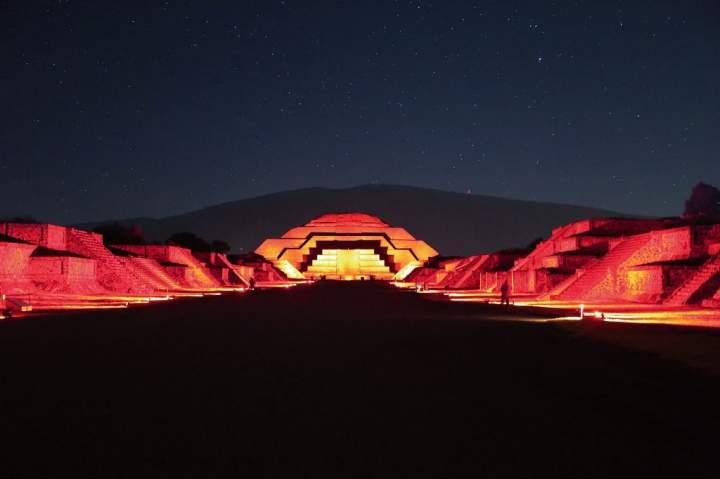Una apertura de la zona arqueológica de Teotihuacán, llega a nosotros un nuevo evento con una maravillosa lluvia de estrellas.