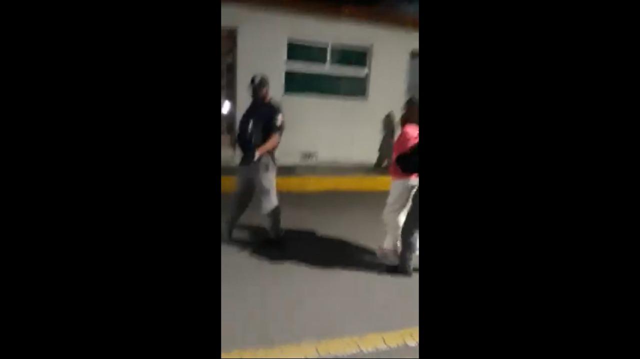 VIDEO    Mujer es agredida por su pareja sentimental en la Col. Morelos en Toluca