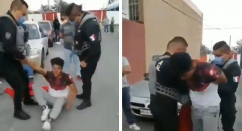 Capturan a presunto delincuente que asaltaba una farmacia en el EDOMEX || VIDEO