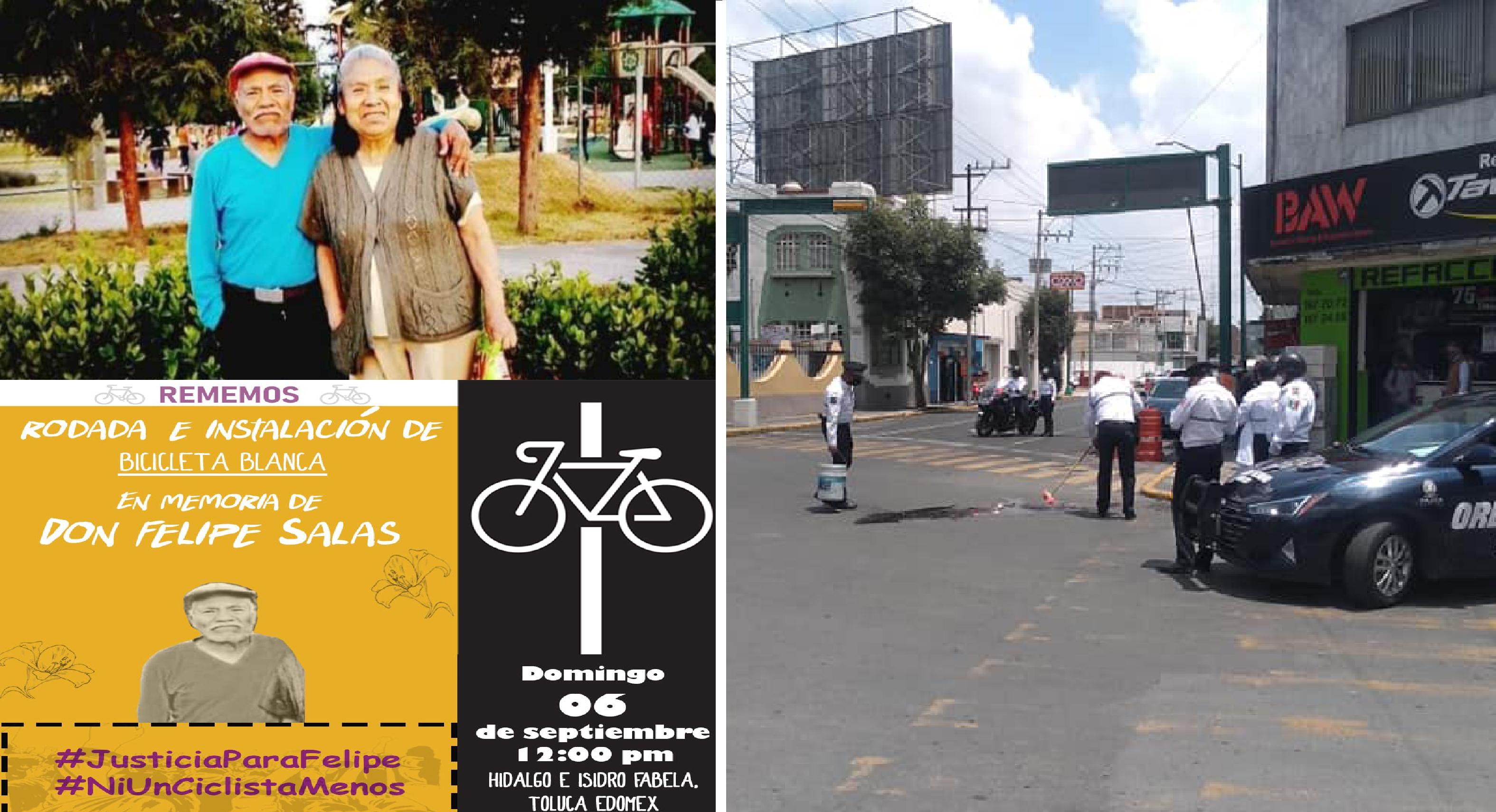 Ciclistas convocan una rodada en memoria de Felipe Salas