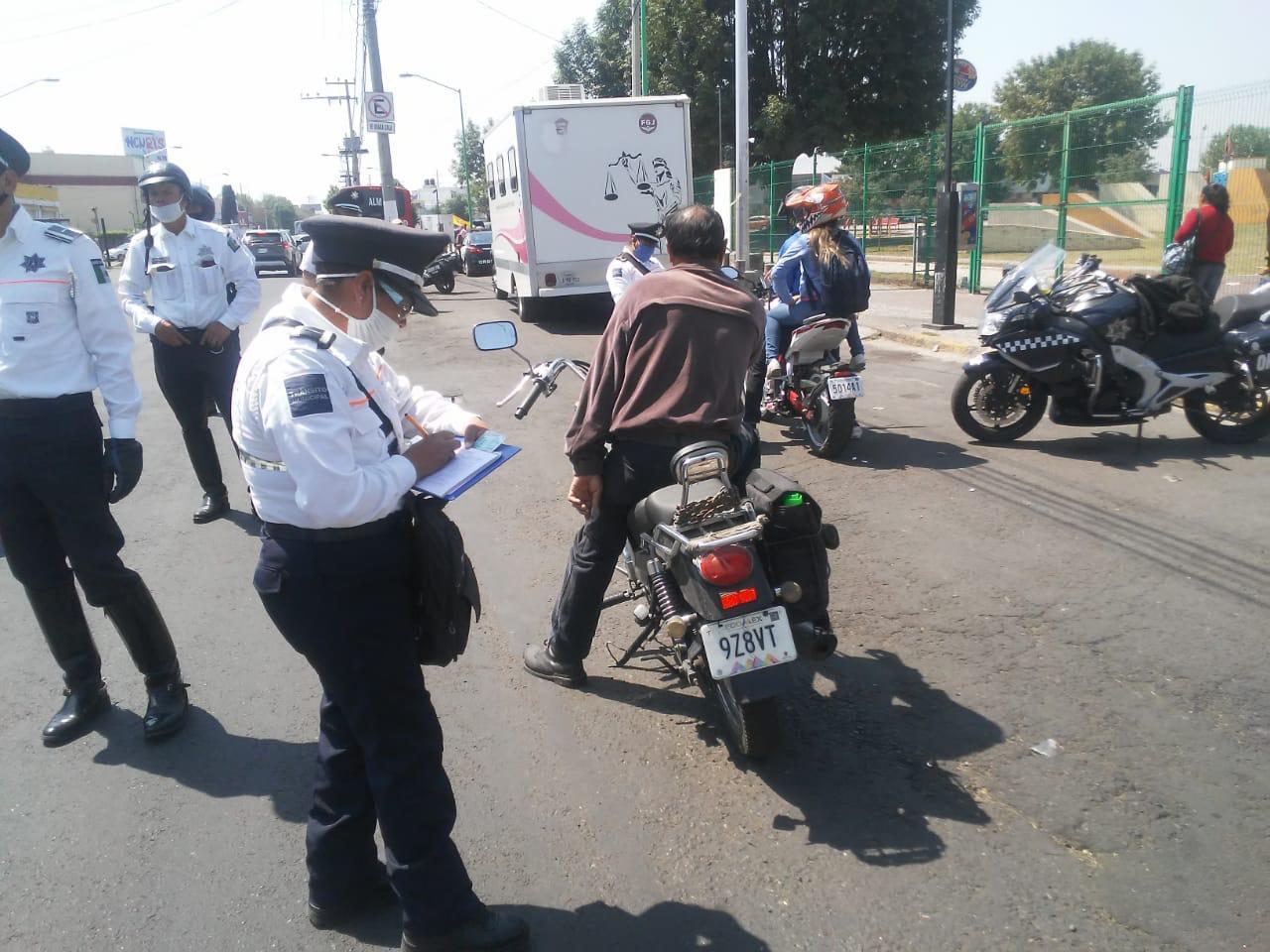 Proponen ley para registro y emplacamiento obligatorio de motocicletas debido a alto incide de robos y delitos en el Edomex.