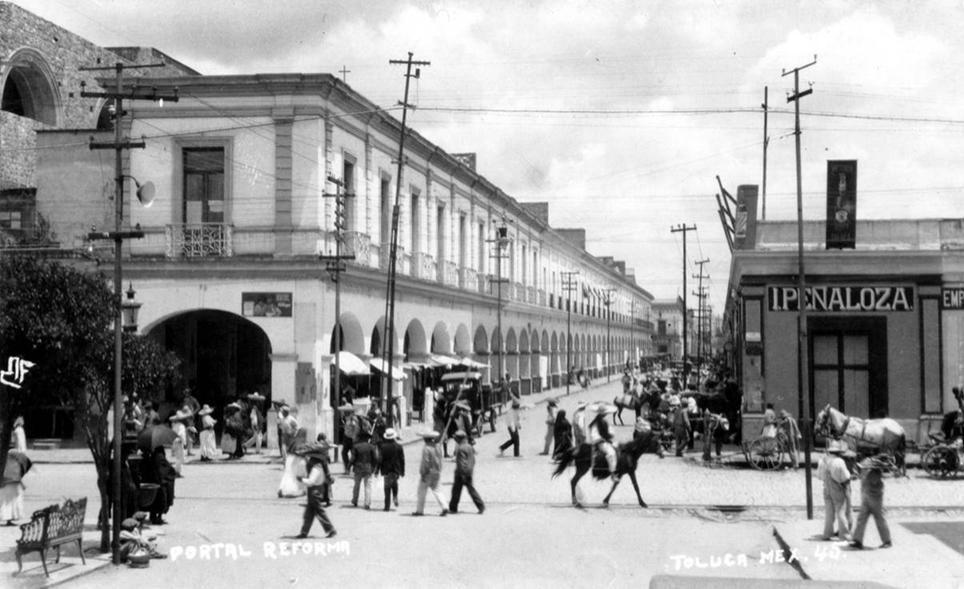 ¿a qué olía Toluca en el siglo XVIII?