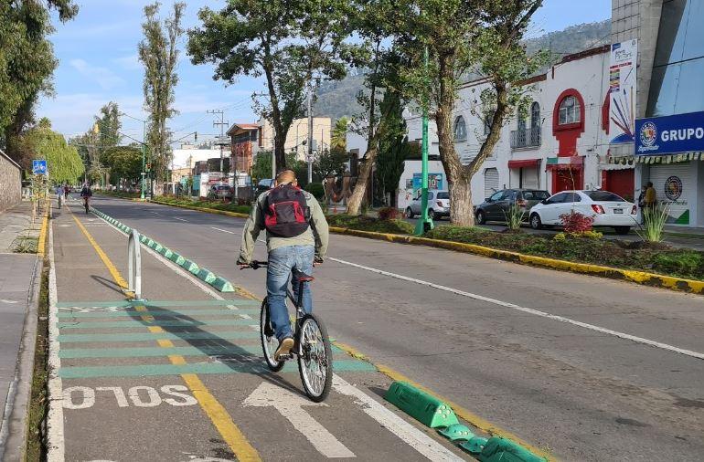 Toluca tendrá dos nuevas ciclovías en el mes de octubre