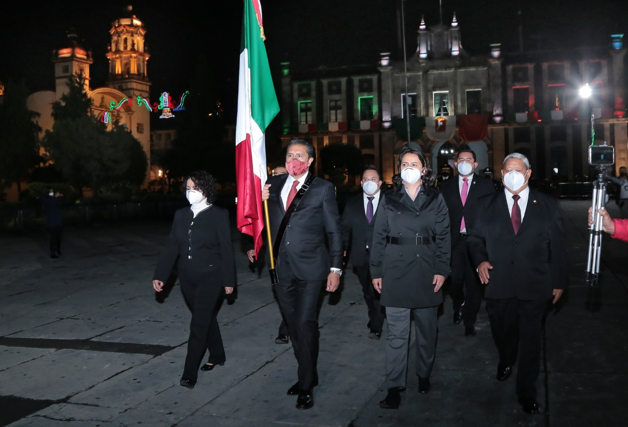 Así se festejó en Toluca el aniversario de la Independencia