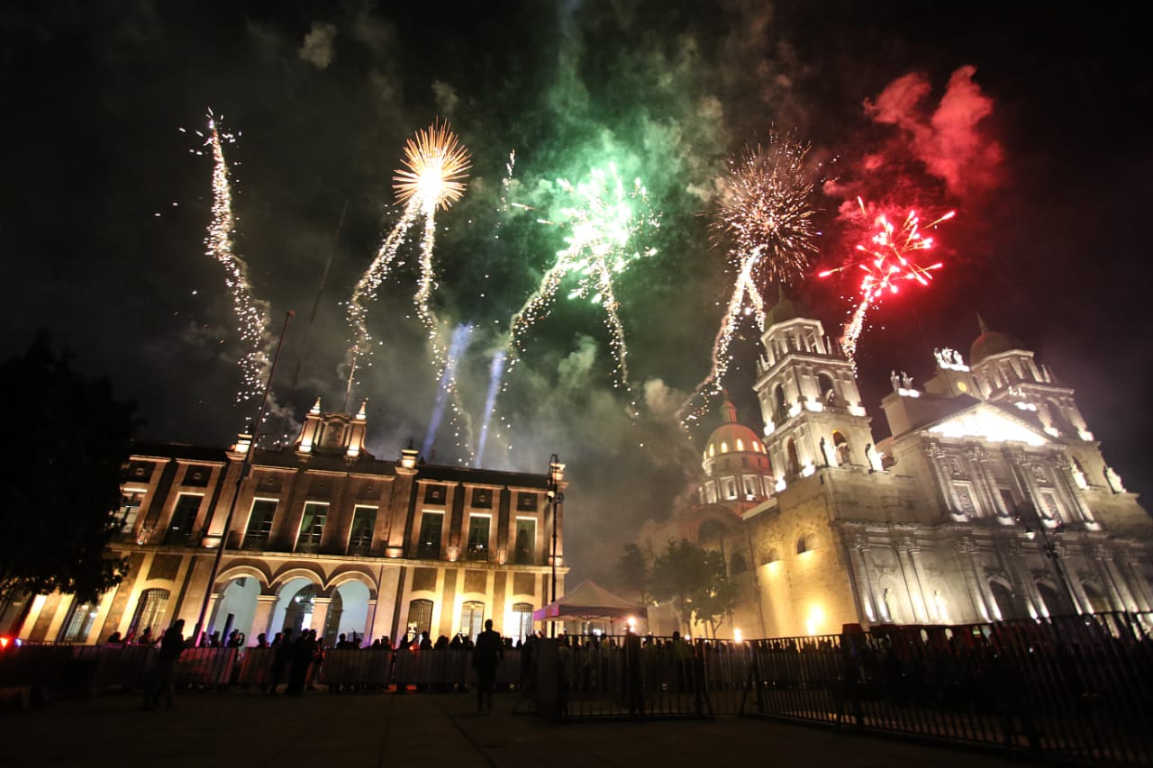 Así será el espectáculo de fuegos artificiales del 15 de septiembre en Toluca