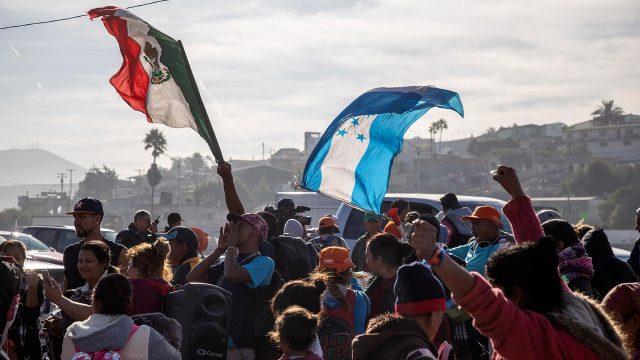 Nueva caravana migrante llegaría a México en octubre