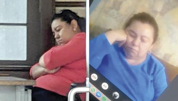 maestra-se-duerme-en-plena-clase-en-linea
