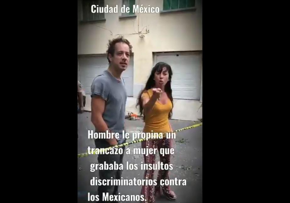 Migración buscará a la pareja argentina que insulto a mexicana en la Condesa