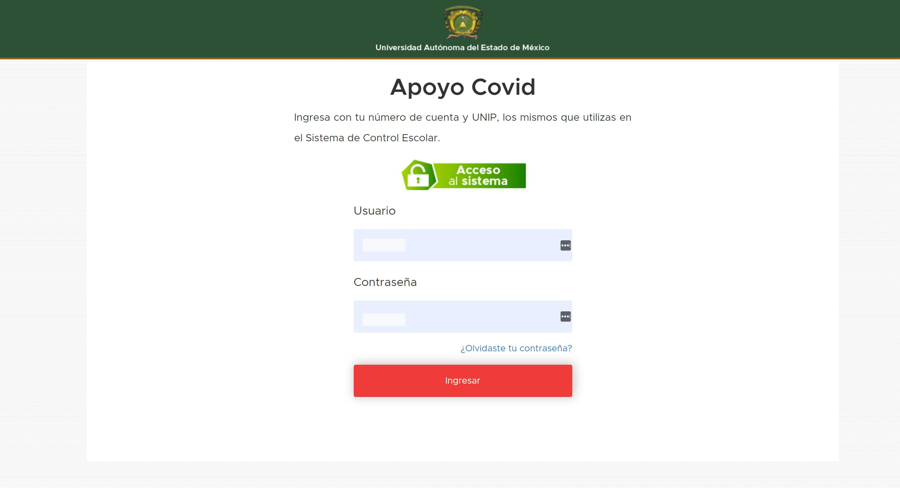 Aprovecha el Apoyo COVID emitido por la UAEMex a estudiantes2