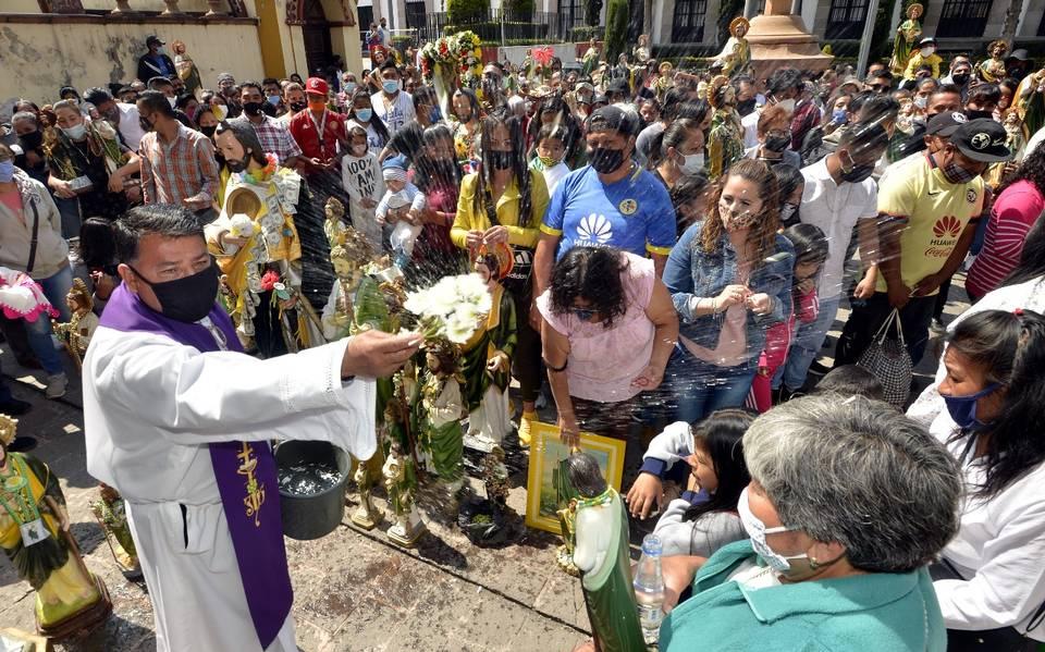 (FOTOS) Así fue la celebración de San Judas Tadeo en Toluca