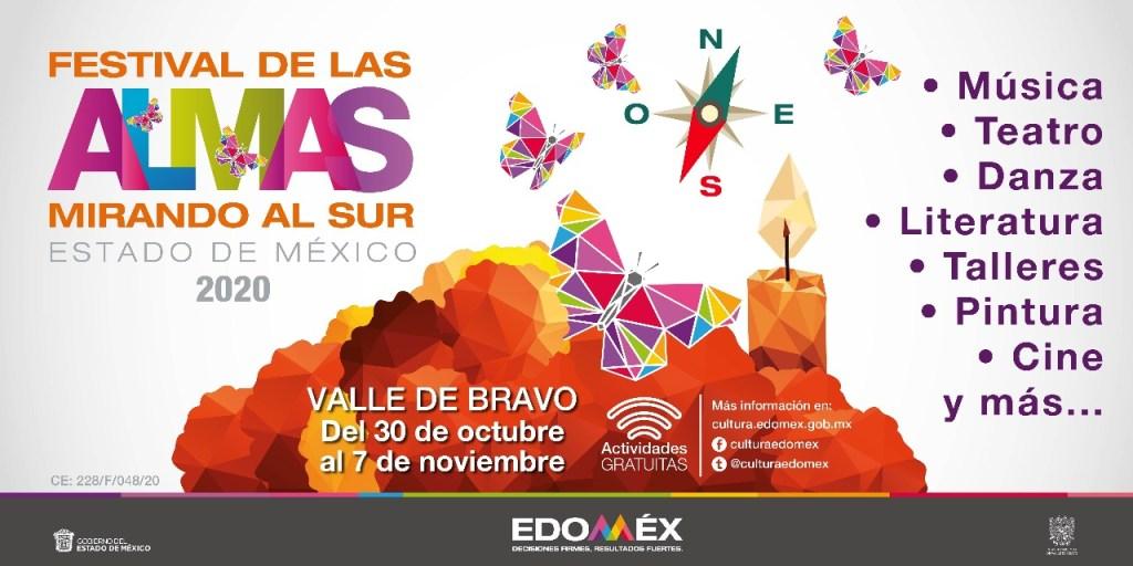 Conoce las actividades y fechas del Festival de las Almas 2020