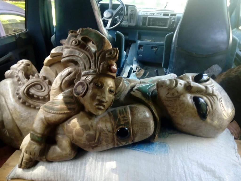 En la construcción del Tren Maya se encontraron figuras de Alien