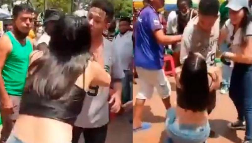 Expareja se vuelve viral por haber implorado de rodillas el regreso de su ex
