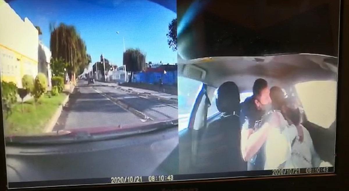 VIDEO    en Puebla una conductora de DiDi es agredida