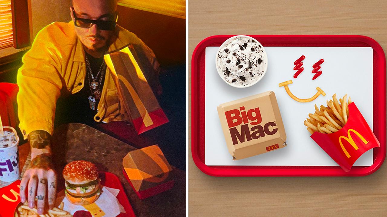J Balvin anuncia su nueva colaboración con Mc Donald's