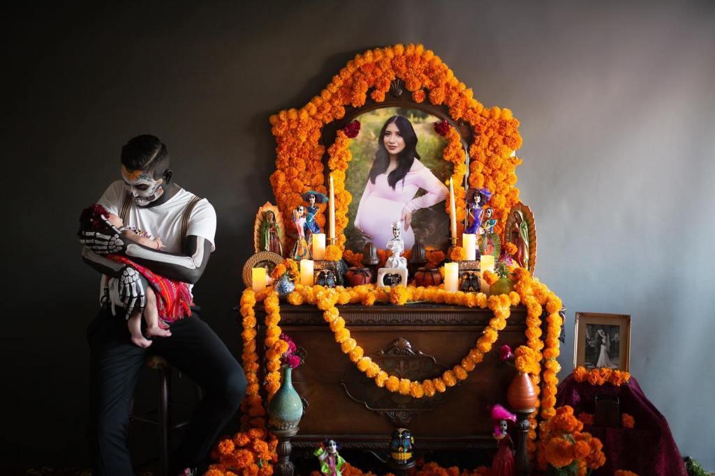 Altar de James para su esposa