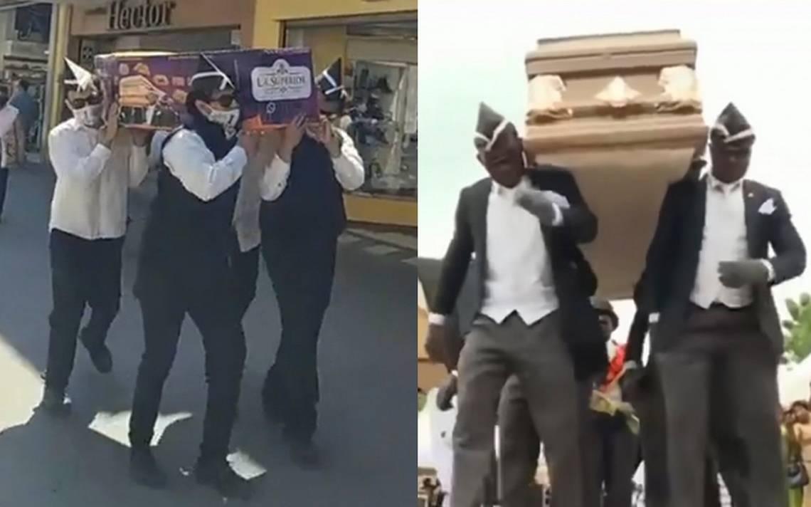 (VIDEO) Panadería recrea el baile del ataúd con pan de muerto