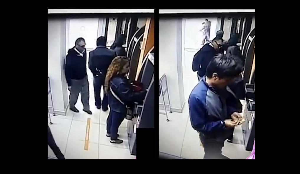 (Video) Así es el nuevo modus operandi para robo en cajeros automáticos