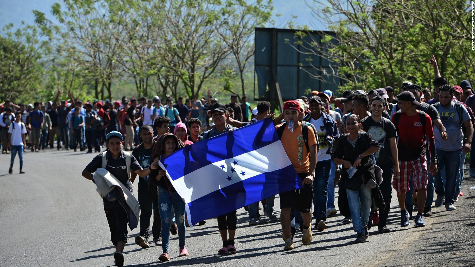 CNDH protegerá derechos de caravana migrante por su paso en México