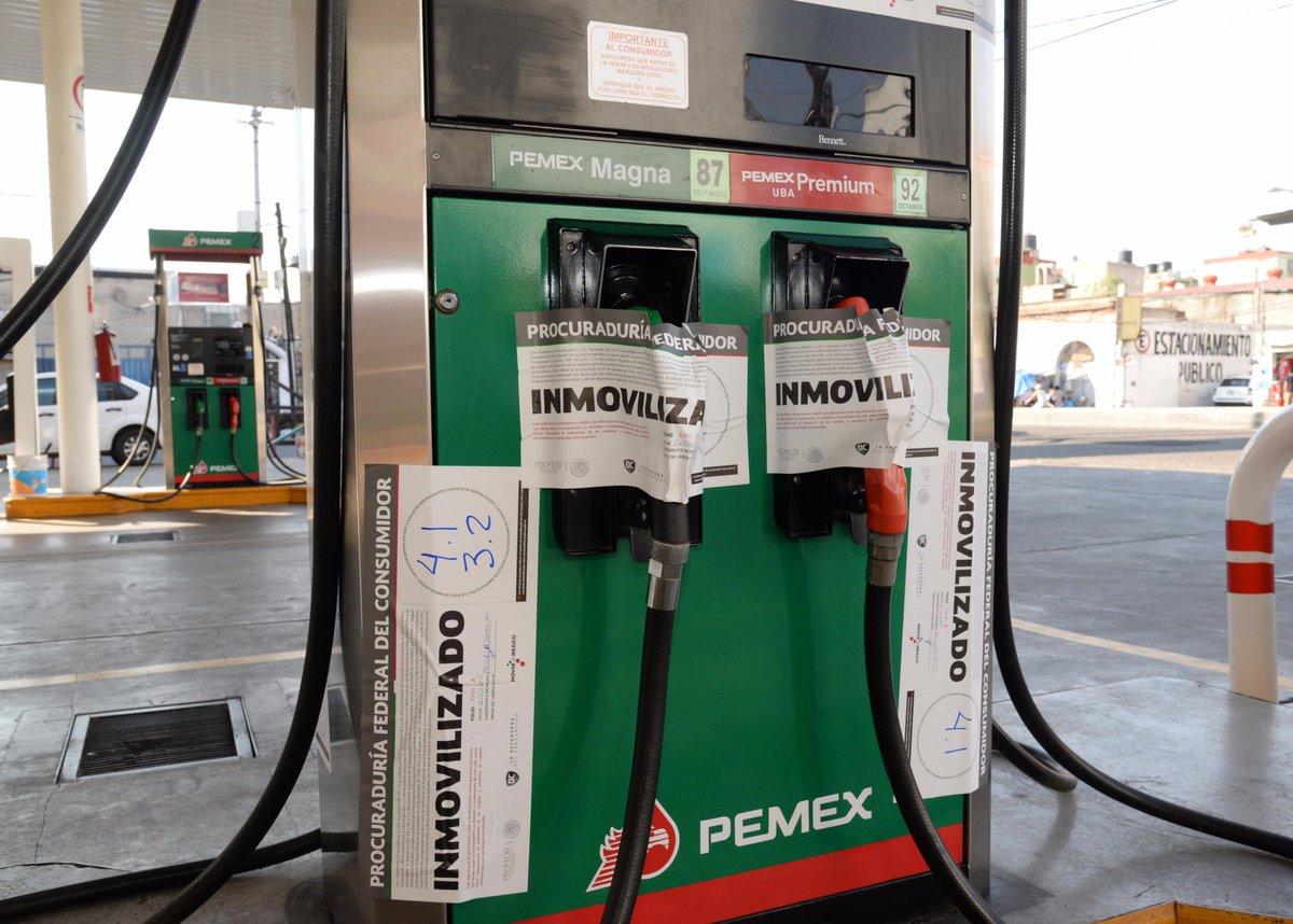 Inicia verificación de gasolineras, Profeco cierra 13 en un fin de semana