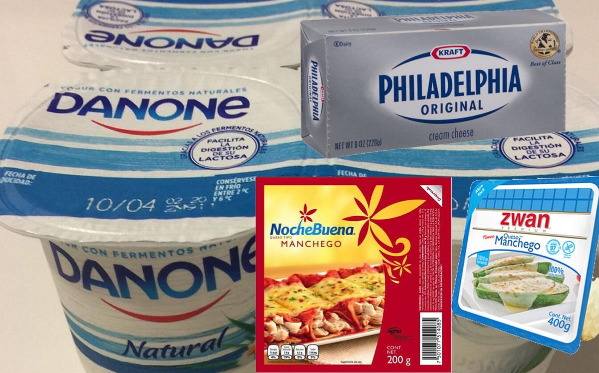 Lista de quesos y yogurts que está prohibida por la Profeco, así engañan a los consumidores.