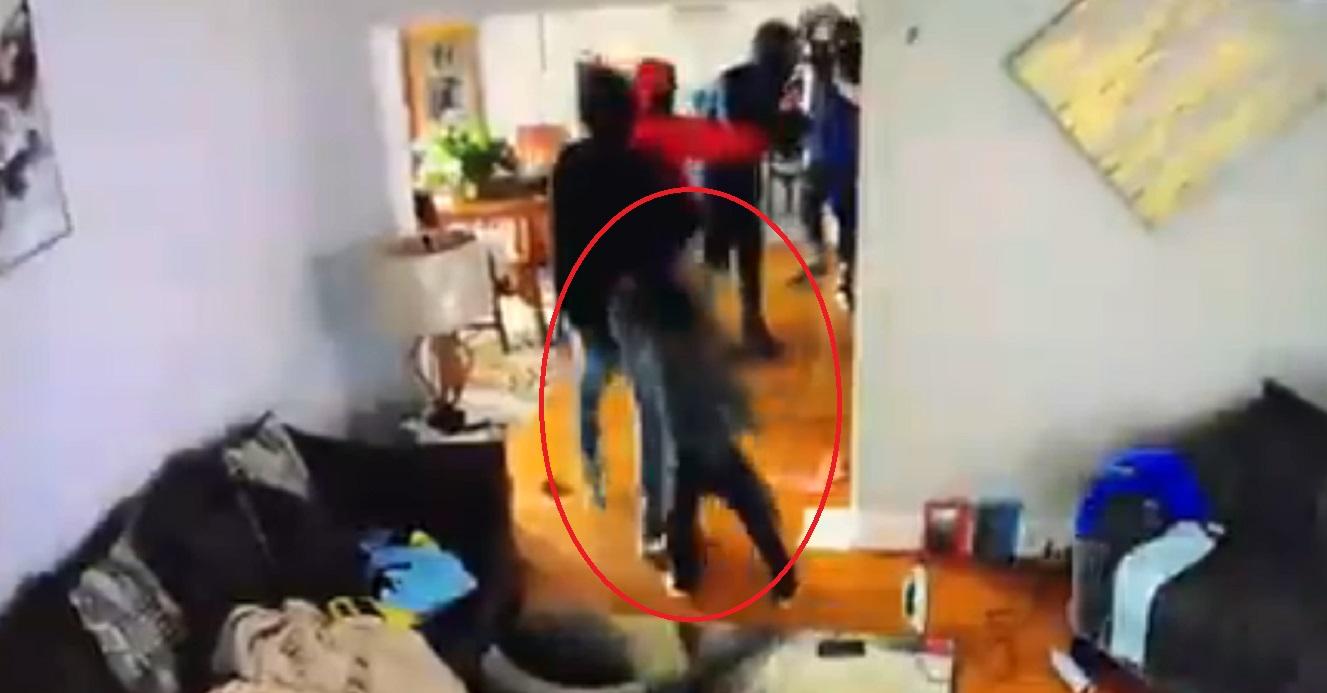 (Video) Ladrones entran a una casa en Estados Unidos y un niño los enfrenta