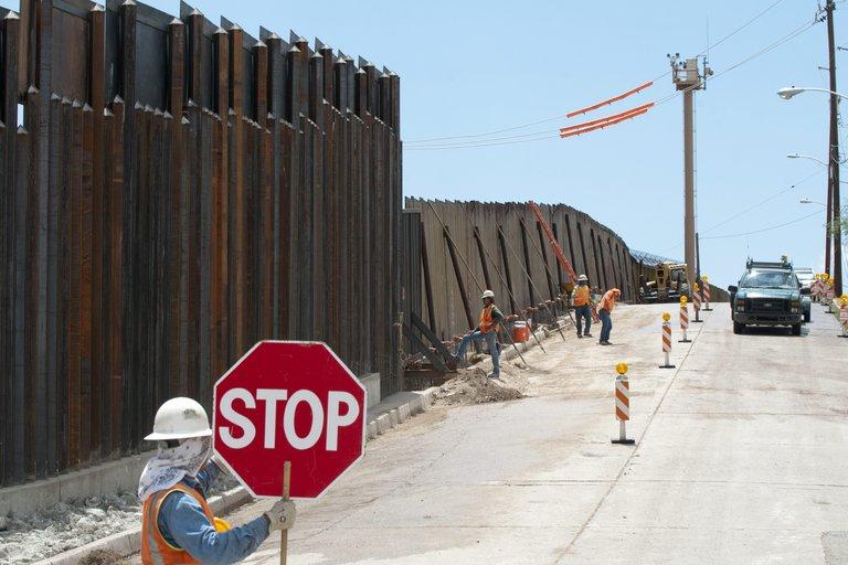 Joe Bidn no seguirá con el muro fronterizo
